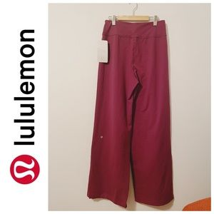 Lululemon Sit In Stillness Pant LUON size 10 NWT